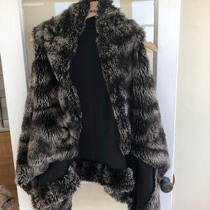 Ark and Co Faux Fur Vest